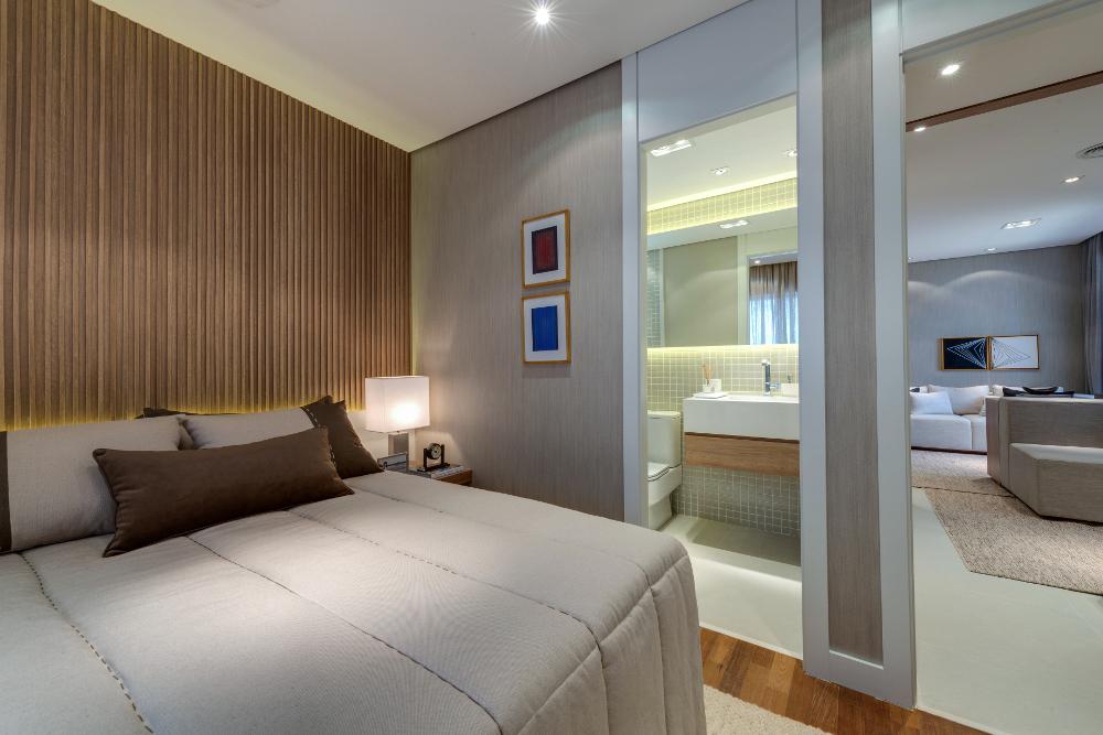 Foto apartamento decorado - 71 m²