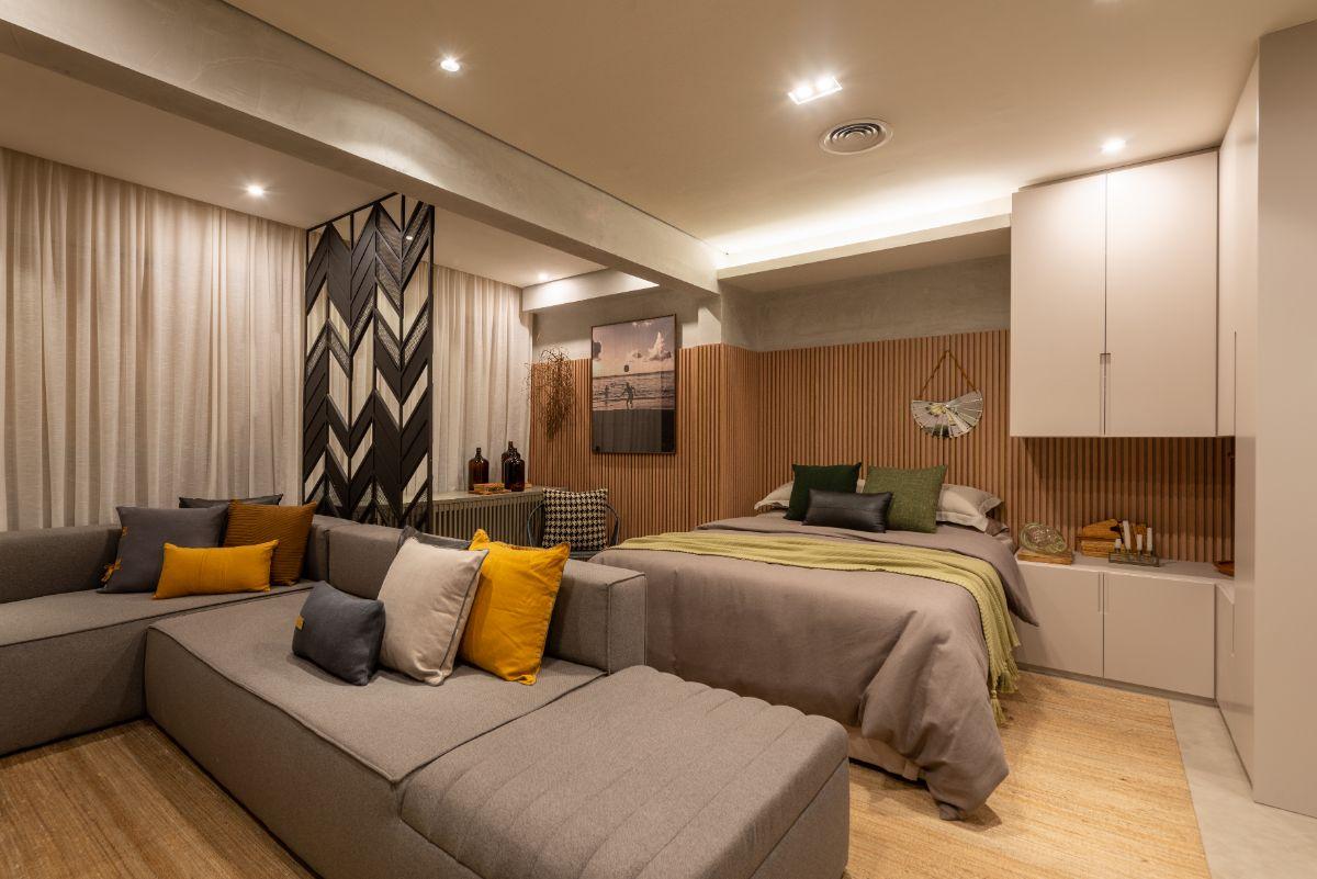 Apartamento decorado – 40 m²