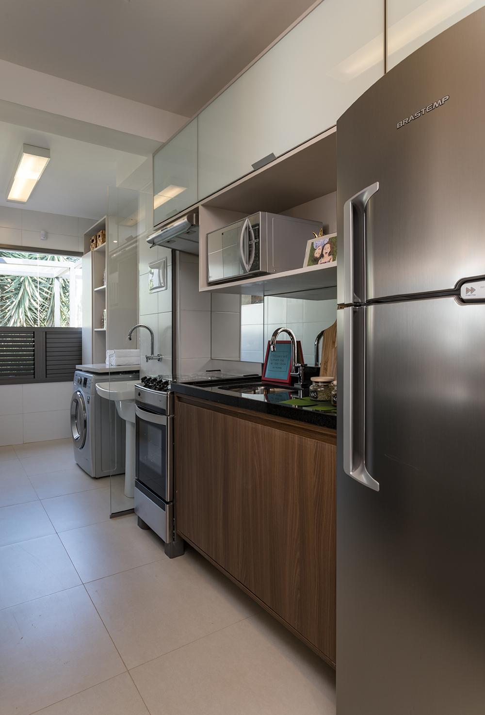 Foto do apartamento decorado - 58m²