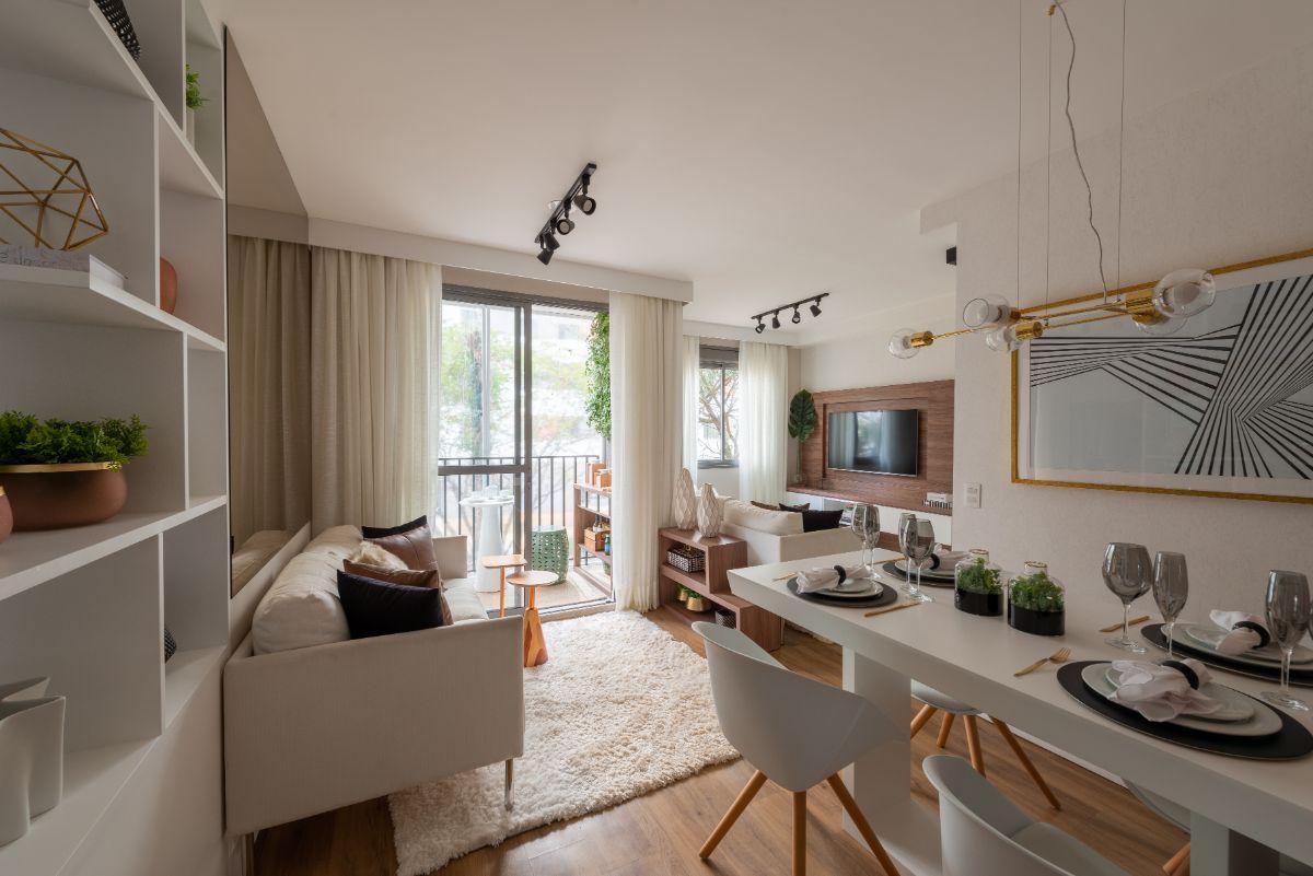 Apartamento decorado 44 m²