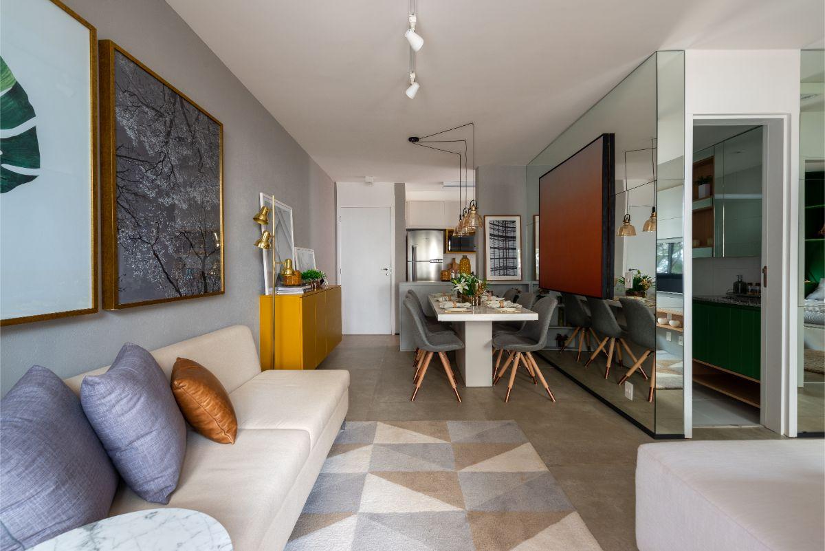 Apartamento decorado 58 m²