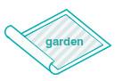 4 Dorms. Garden