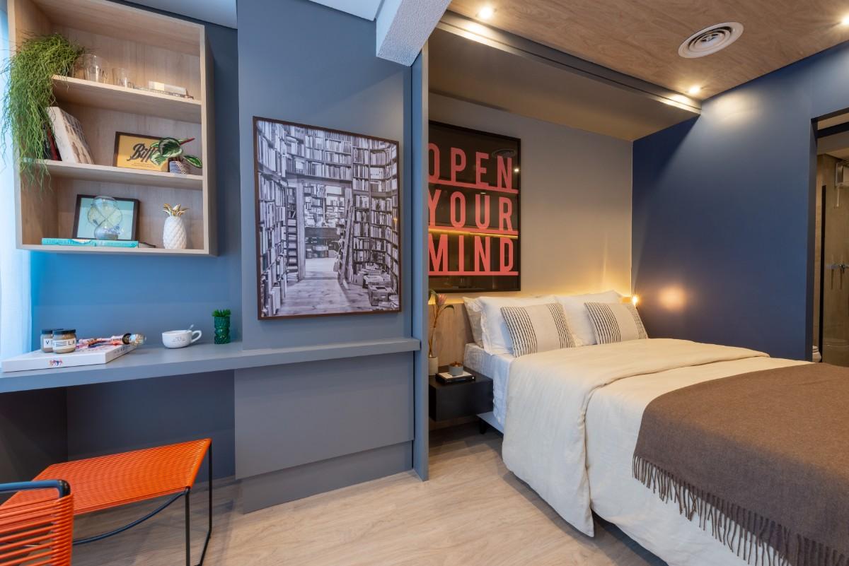 Apartamento decorado 23m²