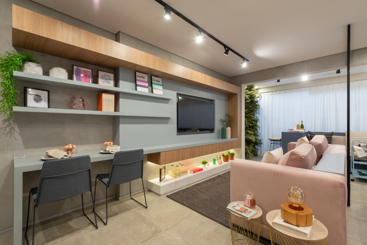 Apartamento decorado 40m²