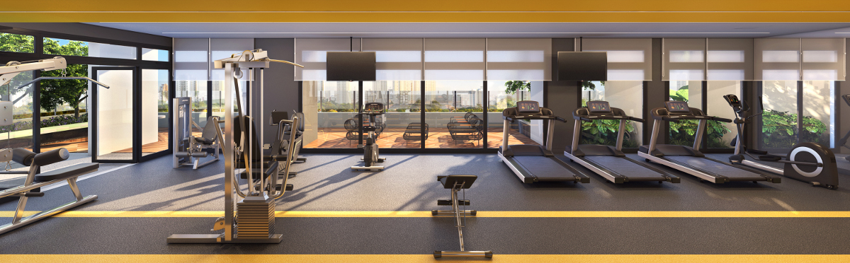 Fitness - imagem panorâmica
