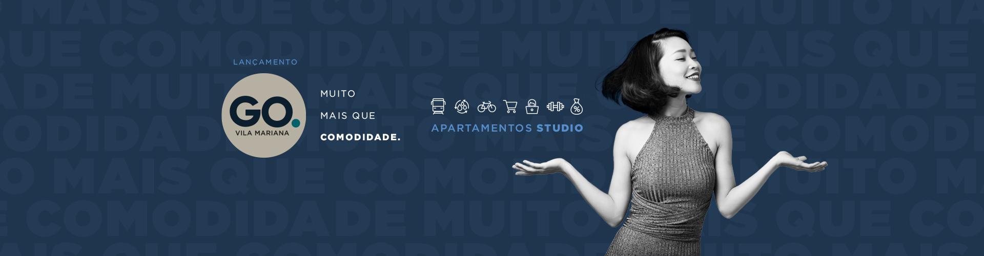 GO. Vila Mariana - Apartamentos STUDIO