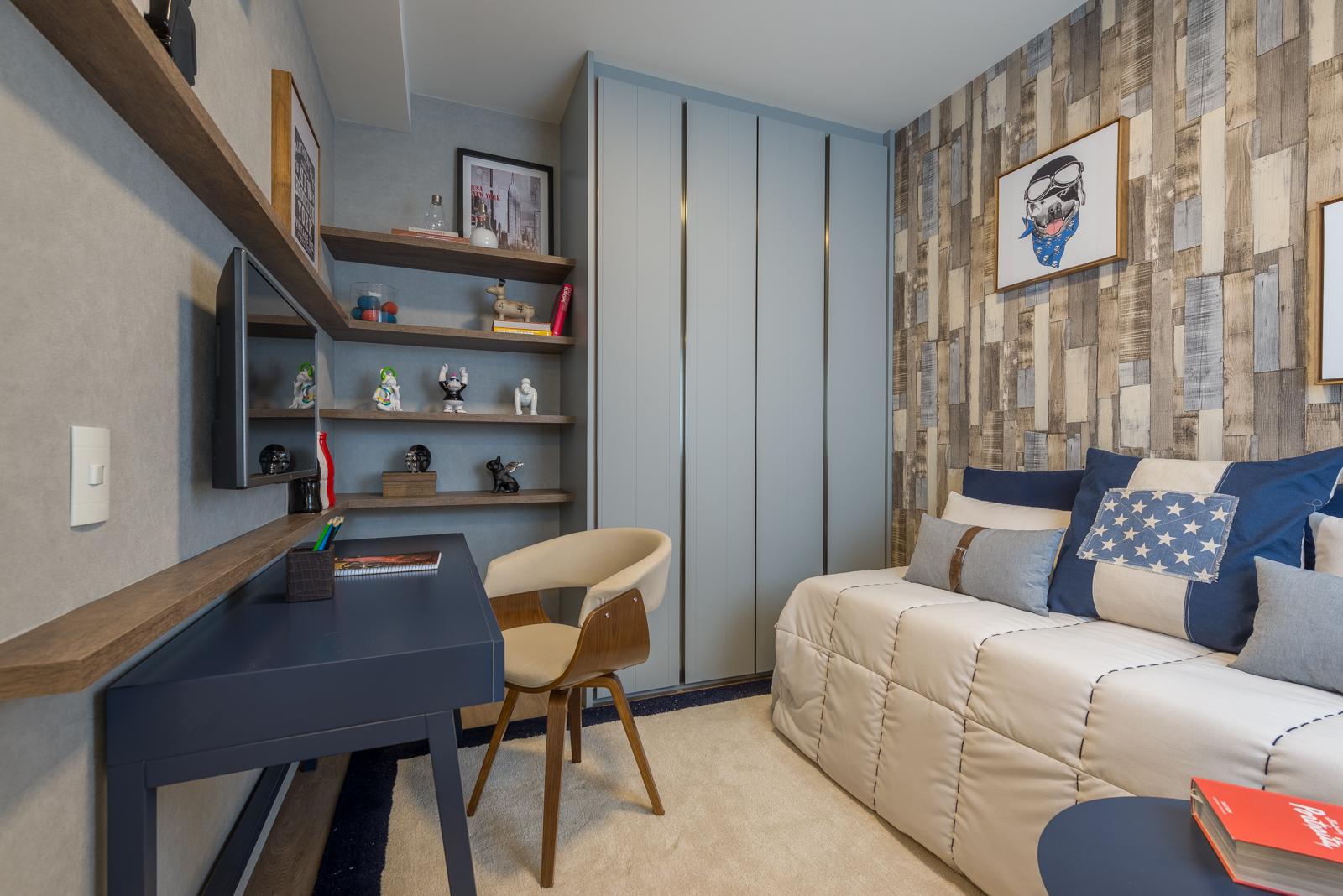 Foto do apartamento decorado - 173m²