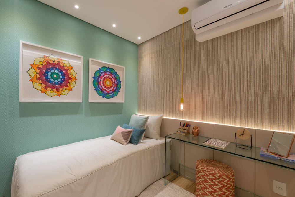 Foto do apartamento decorado - 140m²