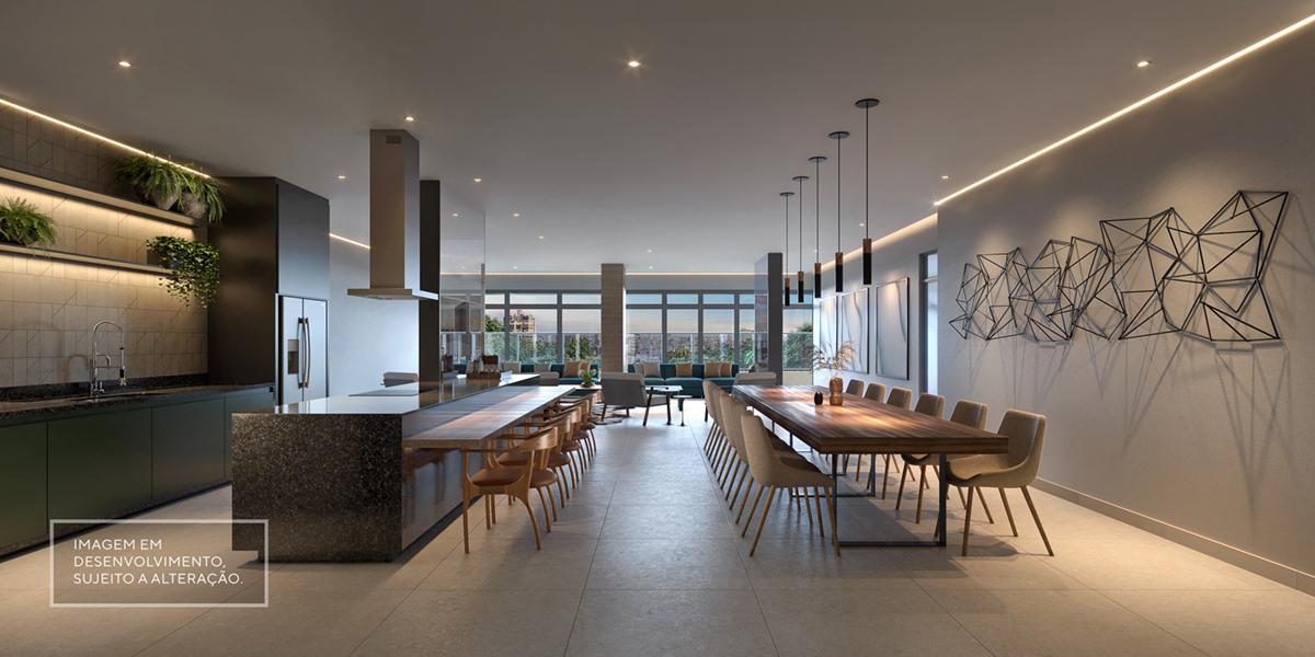 Salão Gourmet - Imagem preliminar, sujeita a alteração
