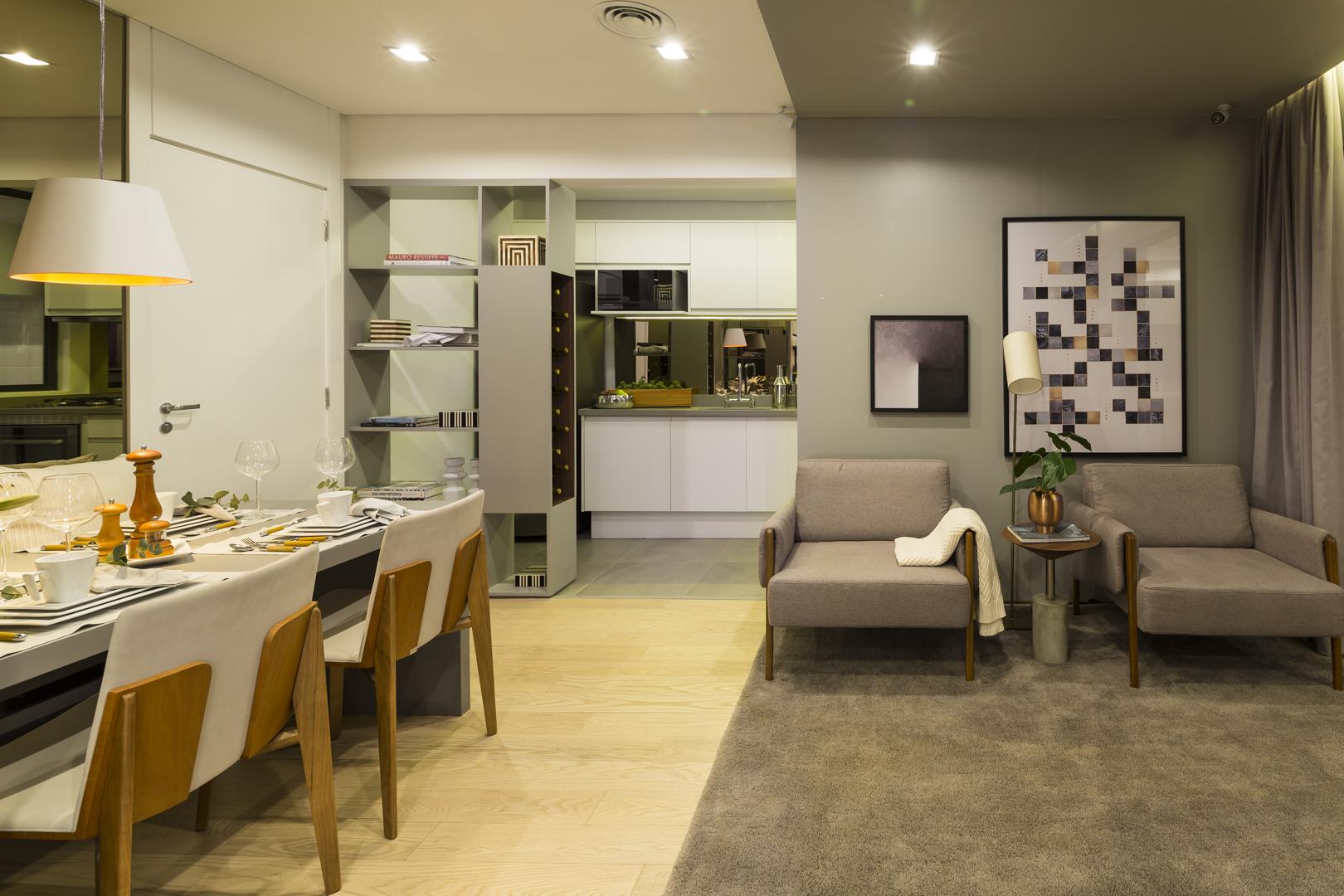 Foto apartamento decorado - 72m²