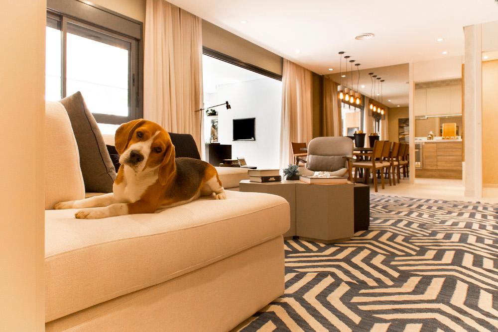 Foto apartamento decorado - 118m²