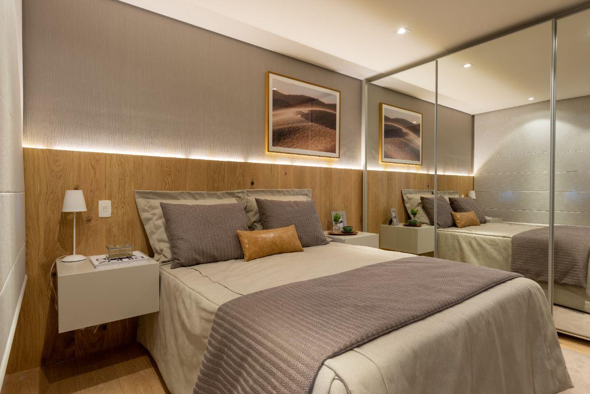 Apartamento decorado 73 m²