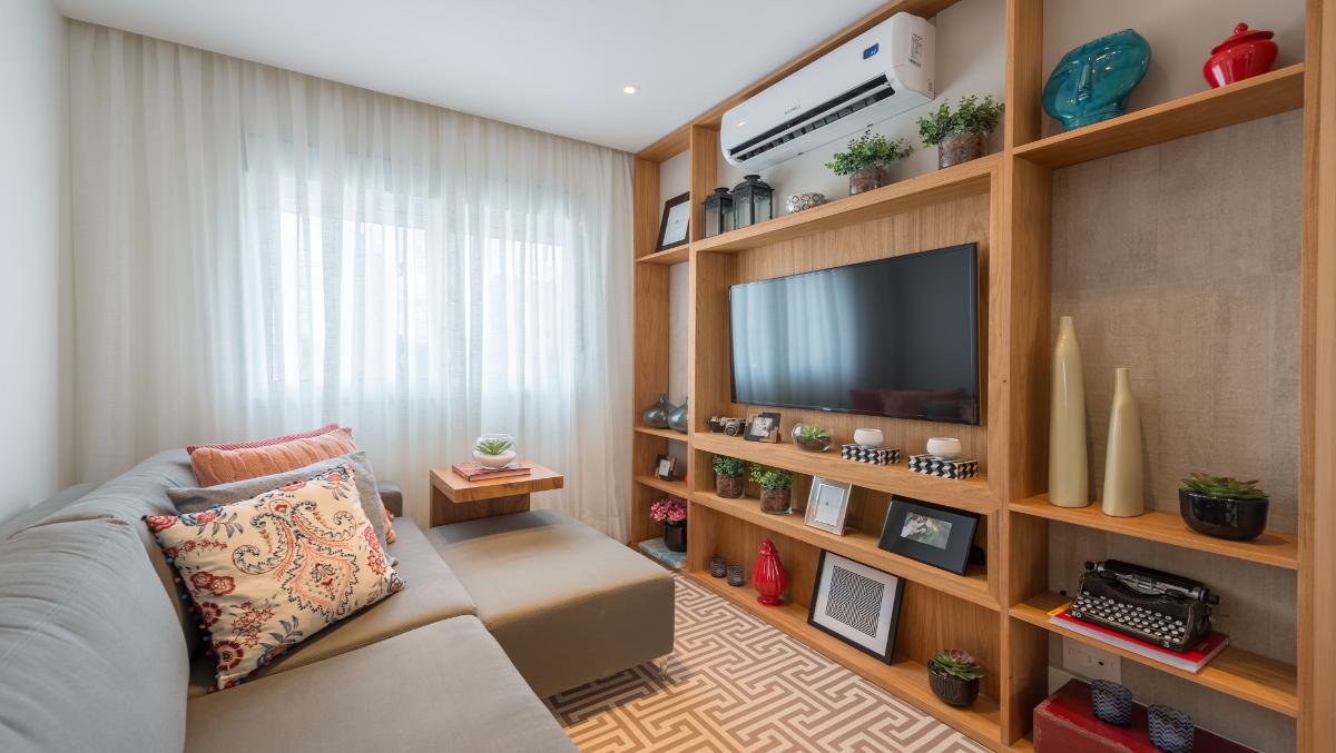 Foto do apartamento decorado