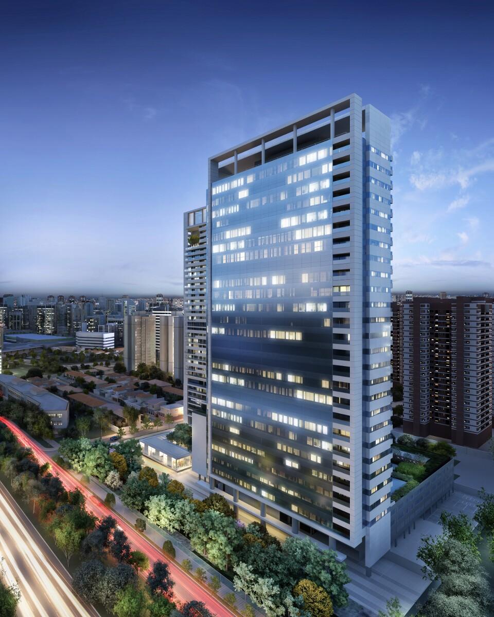Fachada Noturna - Urbanity Corporate