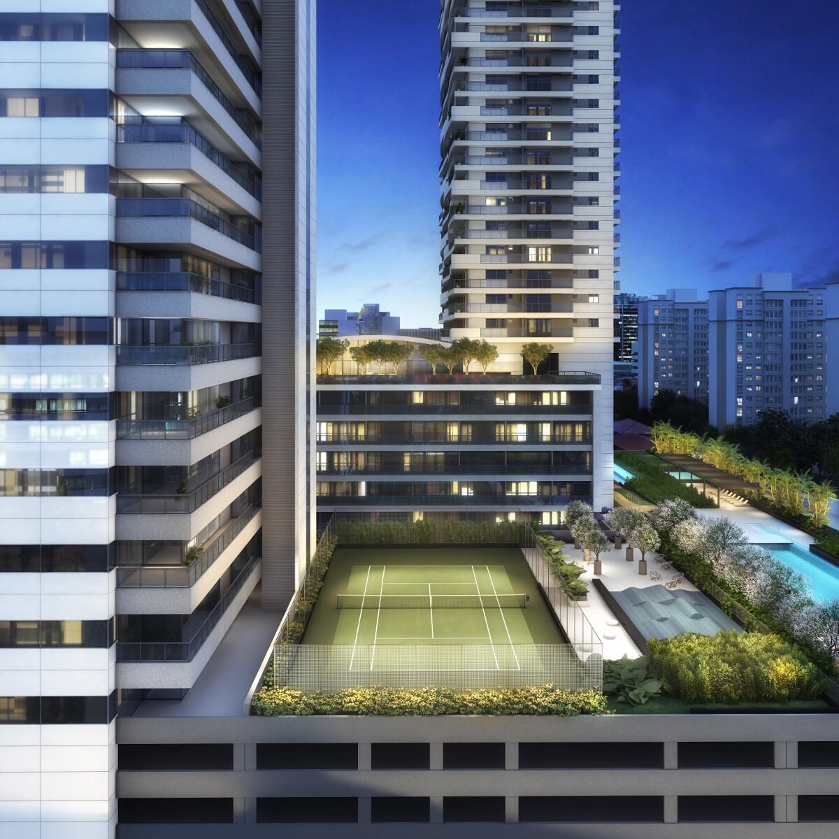 Quadra de Tênis - Urbanity Home