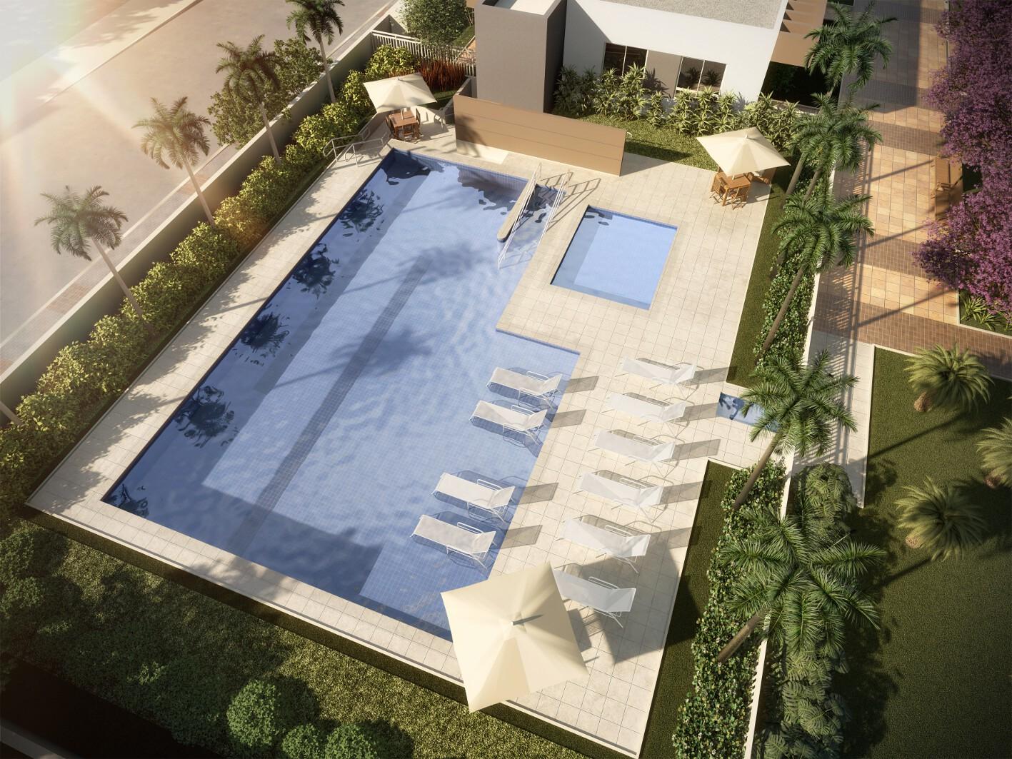 Destaque - Lazer da piscina