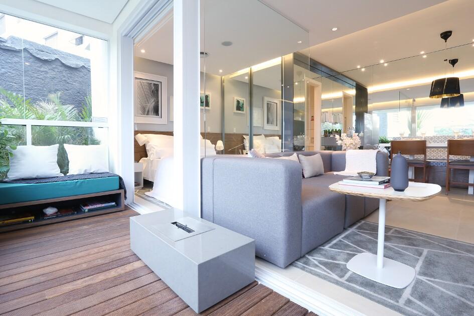 Foto - Apartamento modelo decorado